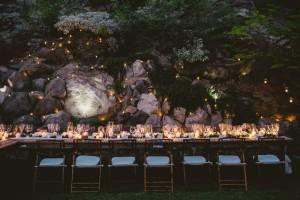 Wedding Table Night